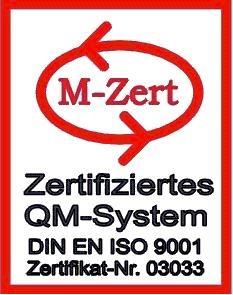M-Zert Logo