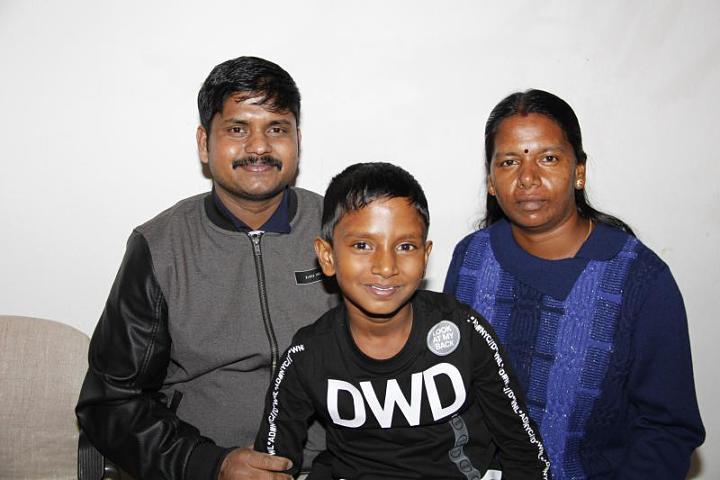 Bild Familie Jeyakumar